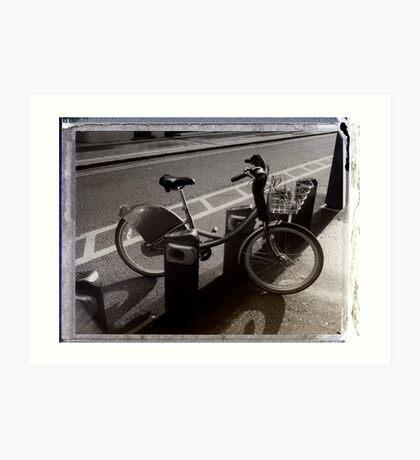 I've Got a Bike You Can Hire It If You Like Art Print