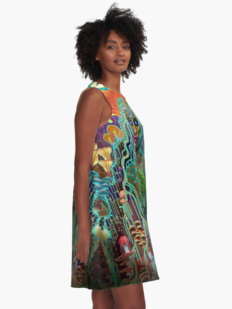 Alternate view of Mycelliana A-Line Dress