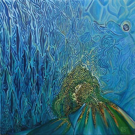 Coral Wrasse by Clare Brooks