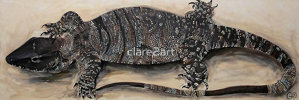 Lizard by Clare Brooks
