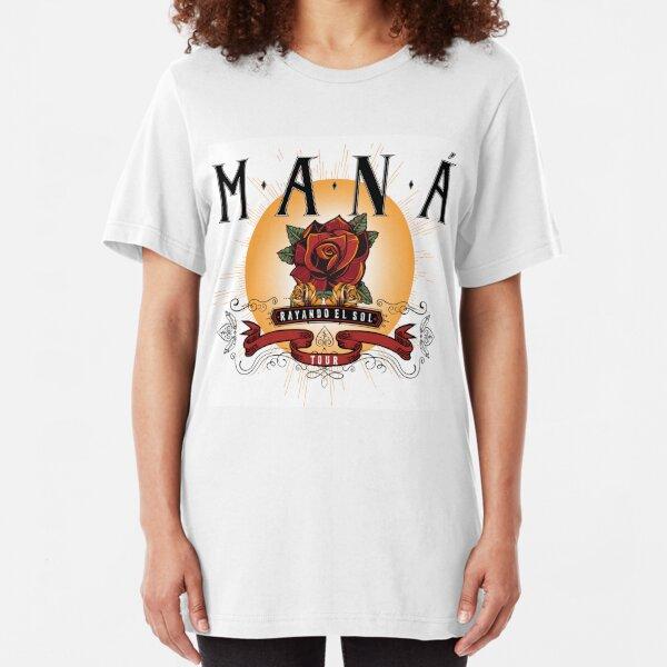 mana di mana rayando tour 2019 kakakatin  Slim Fit T-Shirt