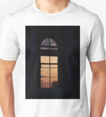 Twilight window  Church,-  Magilligan County Derry Ireland Unisex T-Shirt