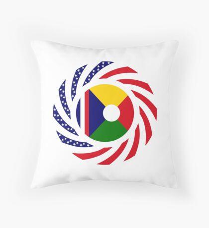 Reunion American Multinational Patriot Flag Series Throw Pillow
