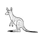 Roo the Eastern Grey Kangaroo - Raising funds for the RSPCA QLD by Paula Peeters