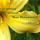 Friendship Card by Susan Blevins