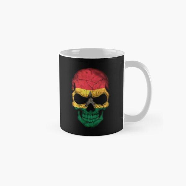Ghana Flag Skull Classic Mug