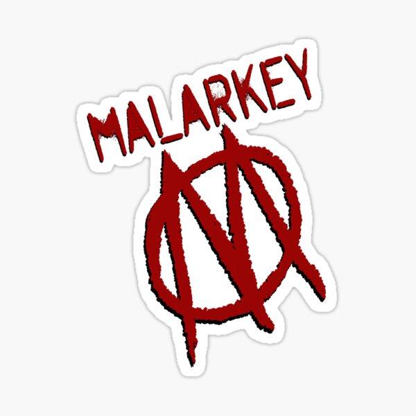 Malarkey for new government Sticker