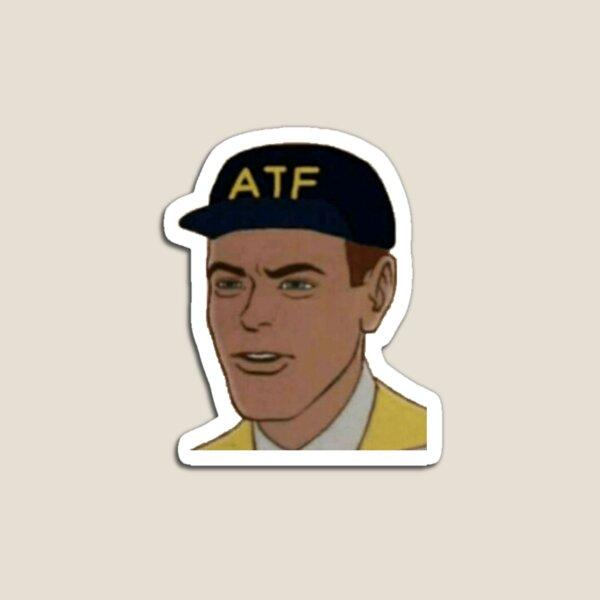 ATF Guy Face Magnet