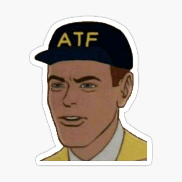 ATF Guy Face Sticker
