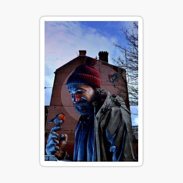 St Mungo Glasgow Scotland Smug Street Art Sticker