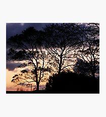 Halloween Sky - Magilligan County Derry Ireland Photographic Print