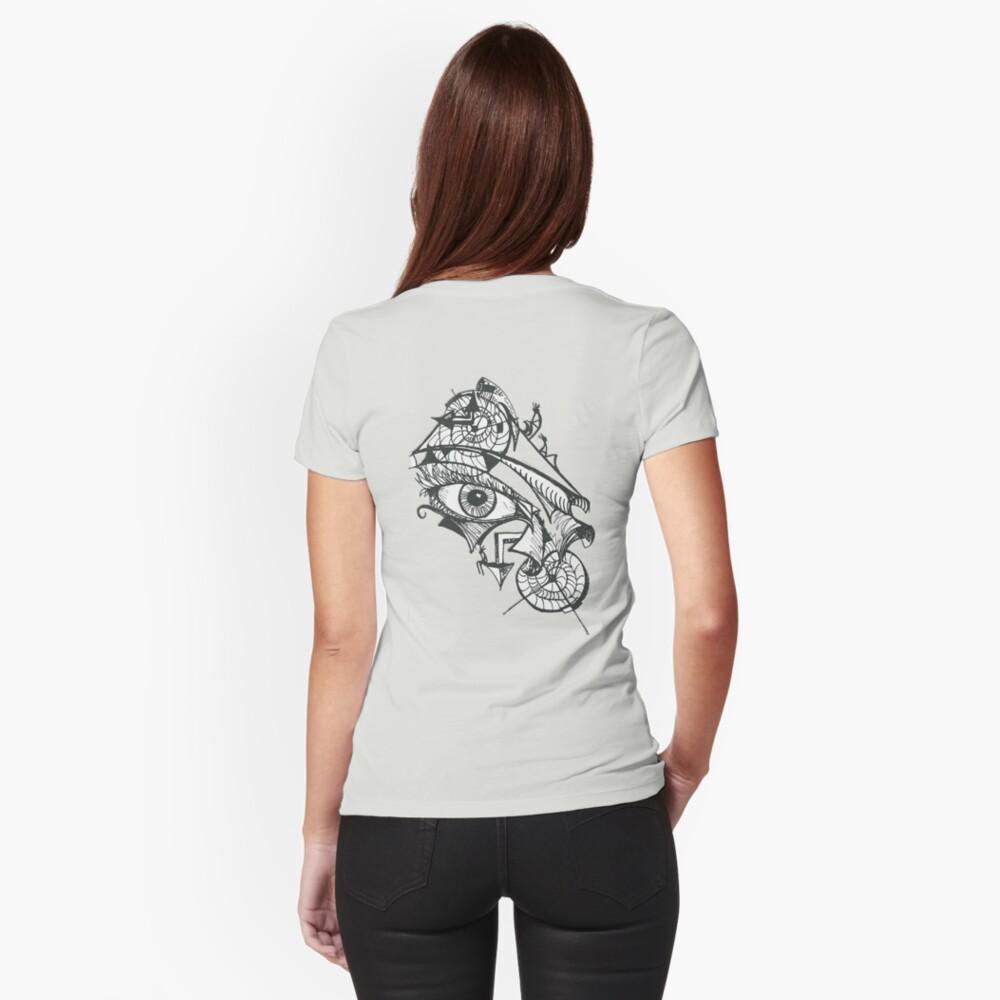 littleTscribble #1 Fitted T-Shirt