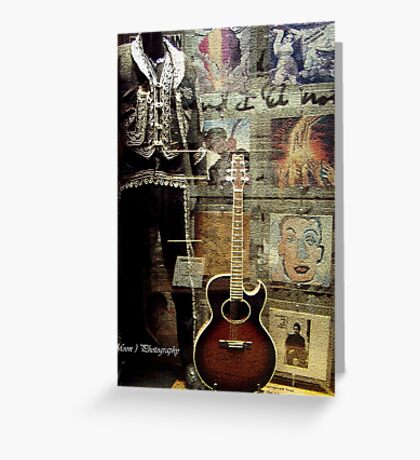 Bob Dylan's Shop-Window Greeting Card