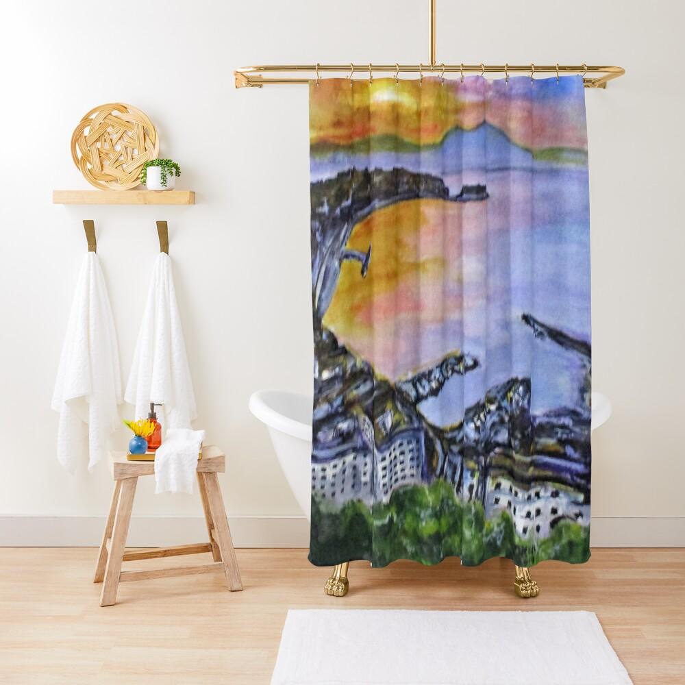 Napoli Sundown Shower Curtain