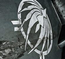 SIVER PHOENIX [Battlestar Galactica] THROW PILLOW by Filmart