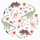 Pretty Dinos by melarmstrong