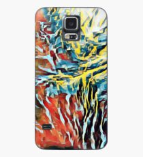 Oil Jagged Edges 003 Case/Skin for Samsung Galaxy