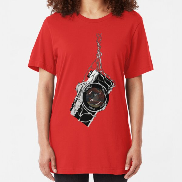 A Special Camera Angle Slim Fit T-Shirt
