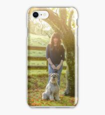 Monty and Stephanie iPhone Case/Skin
