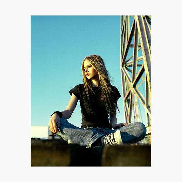 Avril Lavigne Photographic Print