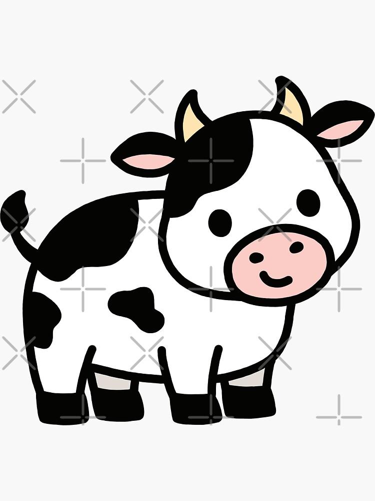 Kuh von littlemandyart