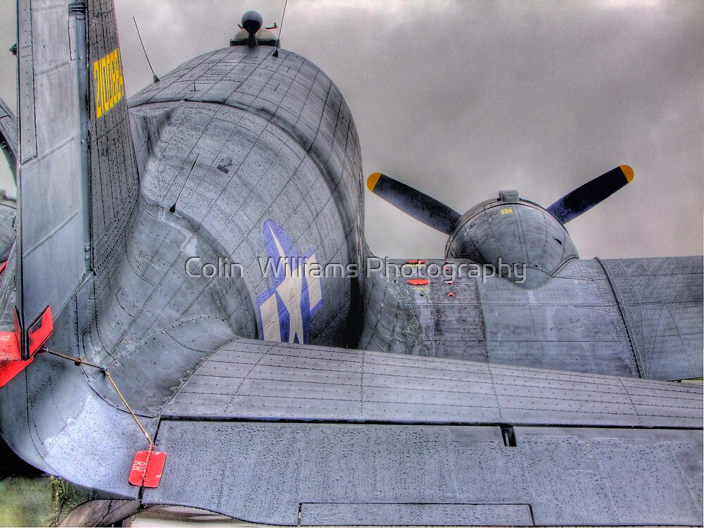 Douglas DC-3 - HDR - Shoreham Airshow 2010 by Colin  Williams Photography