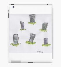 gravestones iPad Case/Skin