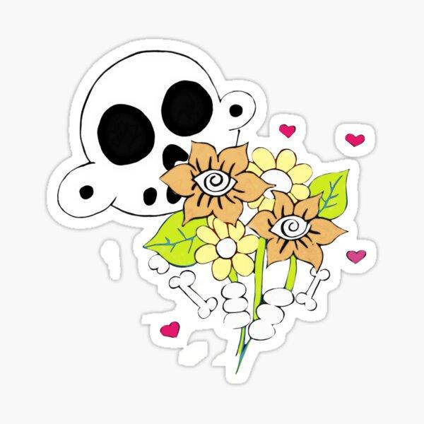 Zanoskull Bouquet Sticker