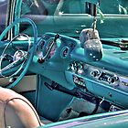 Chevy Bel-Air Convertible-interior by ECH52