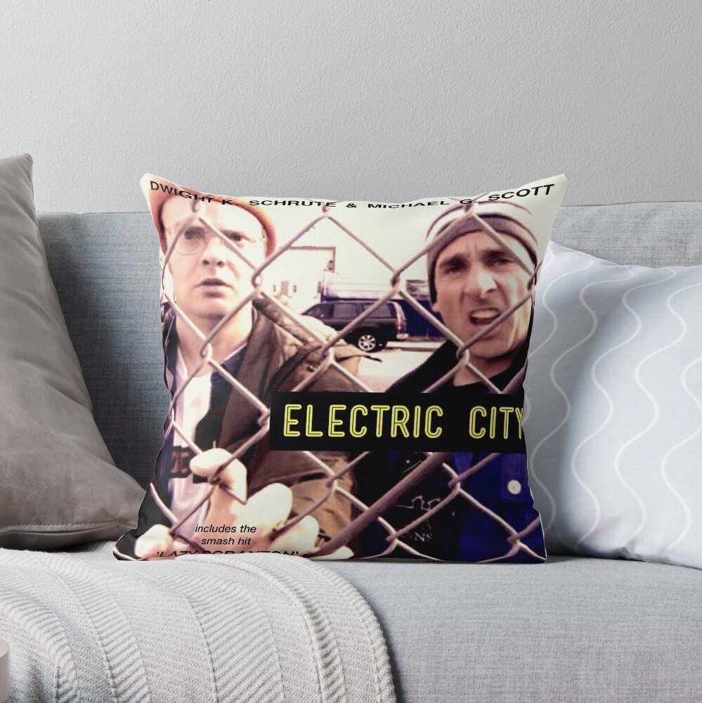 Elektrische Stadt Album Artwork Dekokissen