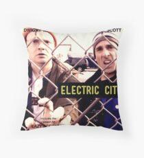 Electric City Album Artwork Throw Pillow