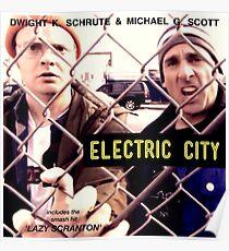 Electric City Album Artwork Poster
