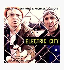 Electric City Album Artwork Photographic Print