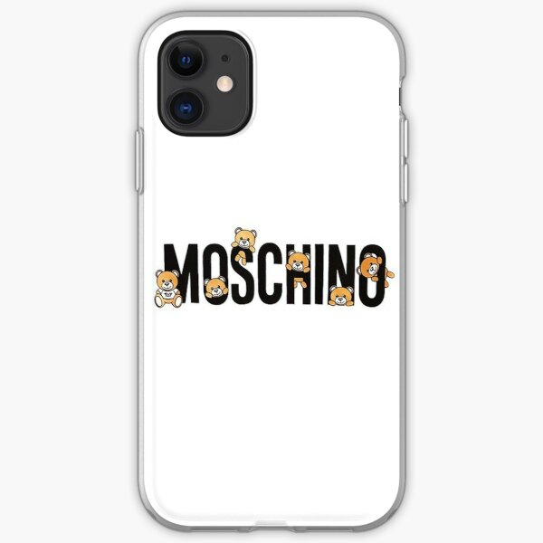 cute moschino teddy iPhone Soft Case