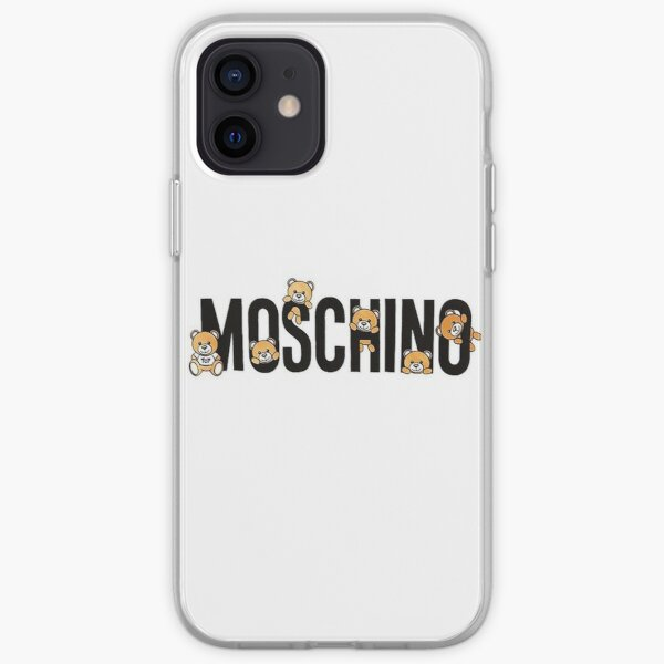 joli nounours moschino Coque souple iPhone