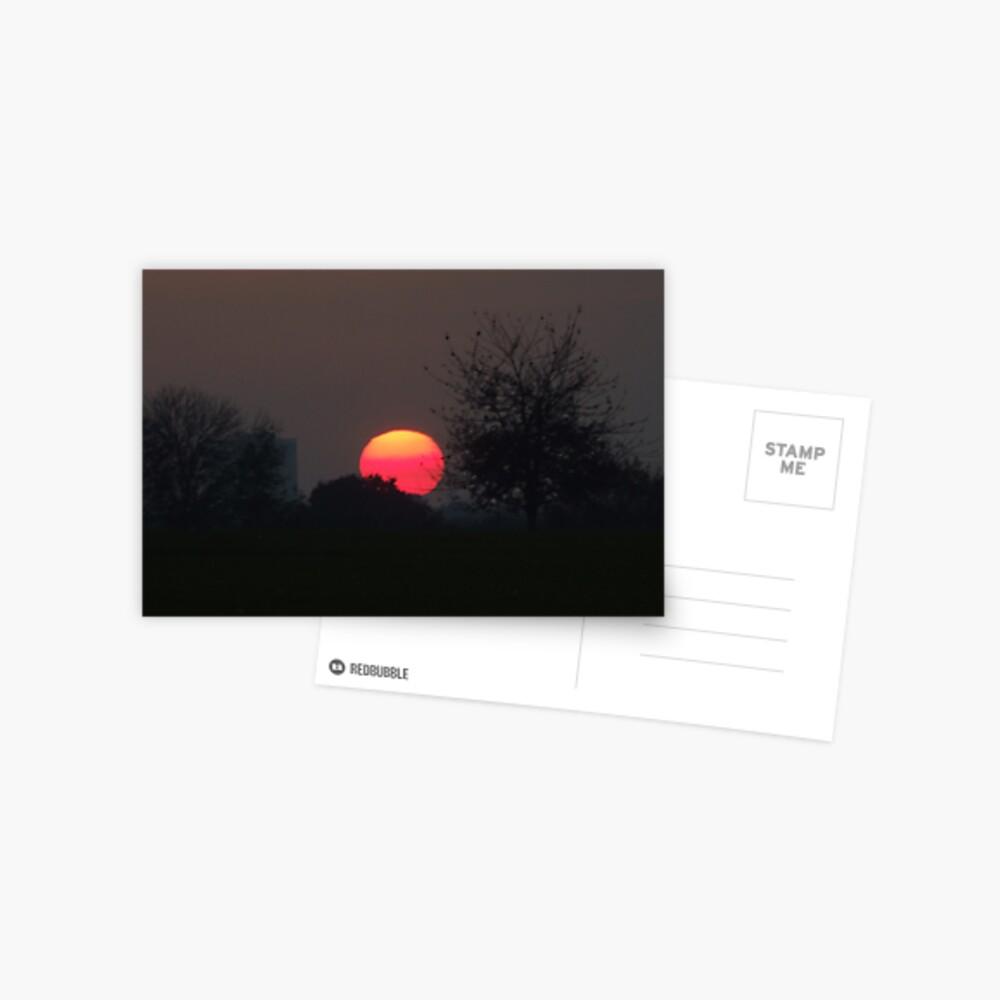 Sunset Calendar 03 Postcard