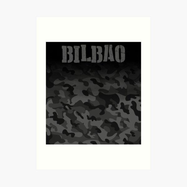 Bilbao camouflage fans Lámina artística