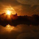 Sunset Calendar 05 by Peter Barrett