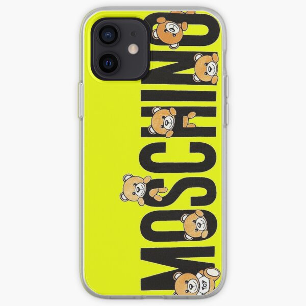 mignon ours moschino Coque souple iPhone