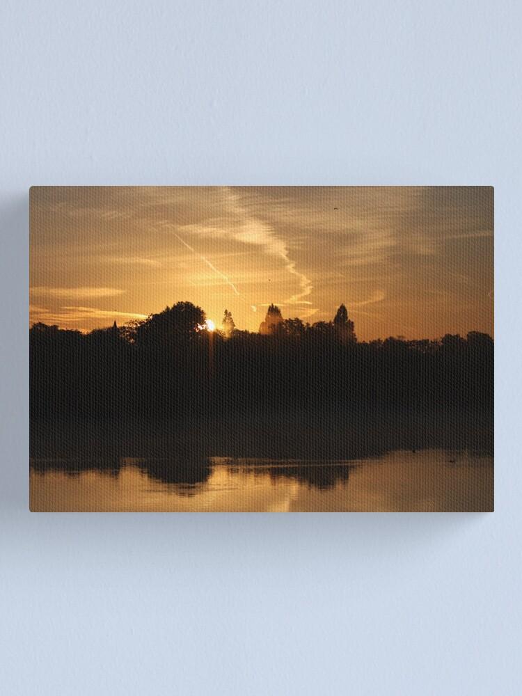 Alternate view of Sunset Calendar 07 Canvas Print