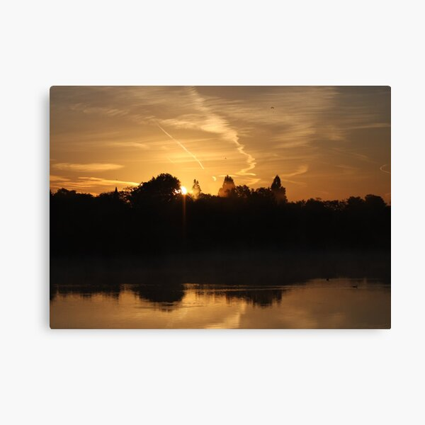 Sunset Calendar 07 Canvas Print