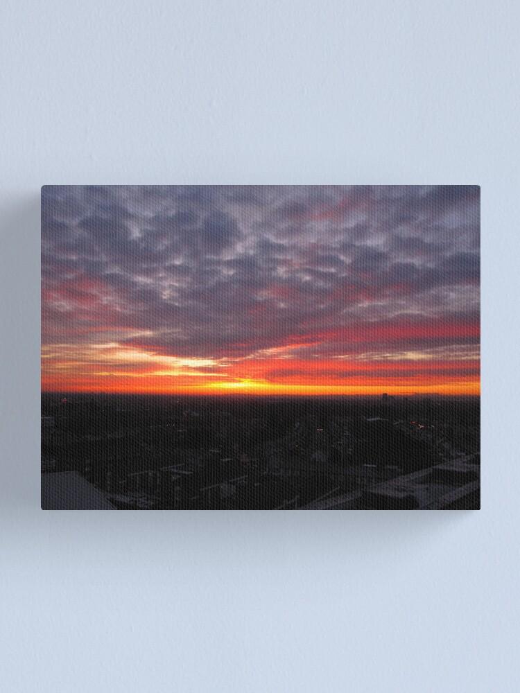 Alternate view of Sunset Calendar 08 Canvas Print