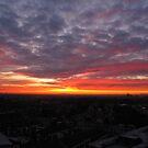 Sunset Calendar 08 by Peter Barrett