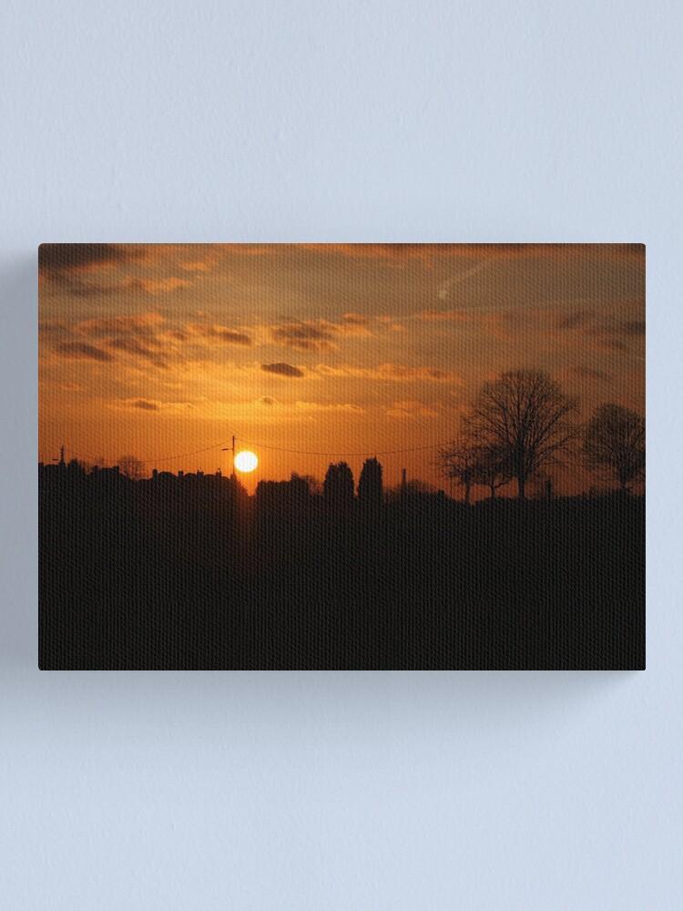 Alternate view of Sunset Calendar 09 Canvas Print
