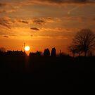 Sunset Calendar 09 by Peter Barrett