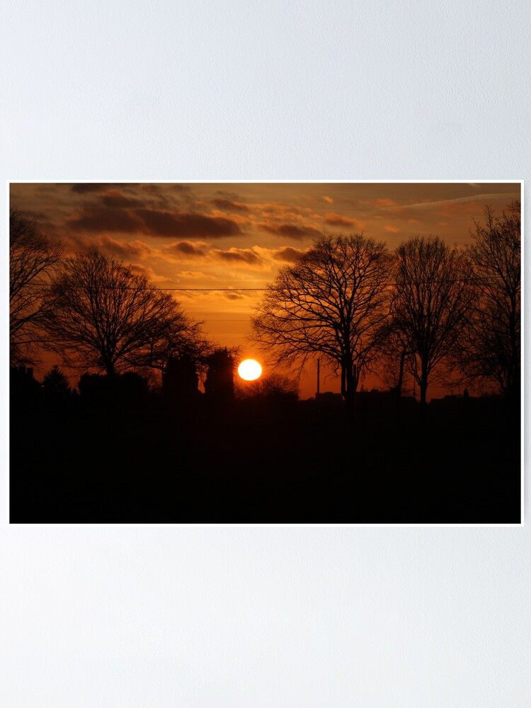 Alternate view of Sunset Calendar 10 Poster