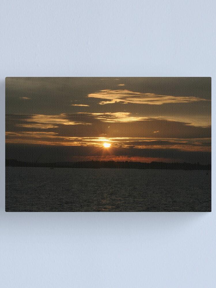 Alternate view of Sunset Calendar 11 Canvas Print
