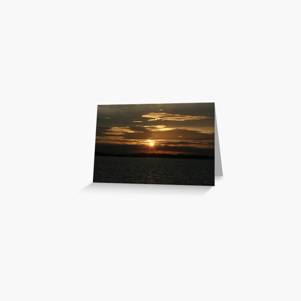 Sunset Calendar 11 Greeting Card