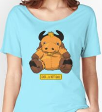 GNU...is NOT the same as UNIX! Women's Relaxed Fit T-Shirt