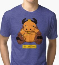 GNU...is NOT the same as UNIX! Tri-blend T-Shirt